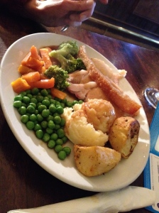 Roast Pork and veges, so yum!